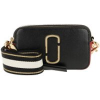 Marc Jacobs Crossbody Bags Snapshot Small Camera Bag Black Black/Red - in schwarz - Umhängetasche für Damen