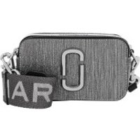 Marc Jacobs Crossbody Bags The Snapshot Glitter Crossbody Bag Silver - in silber - Umhängetasche für Damen