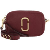 Marc Jacobs Crossbody Bags The Soft Shot 17 Crossbody Bag Leather Muscat - in rot - Umhängetasche für Damen
