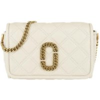 Marc Jacobs Crossbody Bags The Status Flap Crossbody Bag Leather Oatmilk - in beige - Umhängetasche für Damen