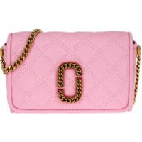 Marc Jacobs Crossbody Bags The Status Flap Crossbody Bag Leather Powder Pink - in rosa - Umhängetasche für Damen