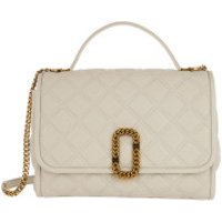 Marc Jacobs Crossbody Bags The Status Top Handle Bag Leather Oatmilk - in weiß - Umhängetasche für Damen
