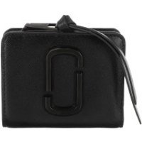 Marc Jacobs Wallet The Snapshot Mini Compact Wallet Black - in schwarz - Portemonnaie für Damen