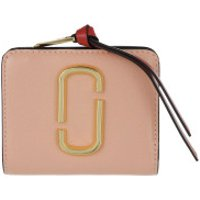Marc Jacobs Wallet The Snapshot Mini Compact Wallet New Rose/Multi - in bunt - Portemonnaie für Damen