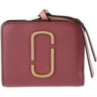 Marc Jacobs Wallet The Snapshot Mini Compact Wallet Ruby/Multi - in rosa - Portemonnaie für Damen