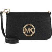 Michael Kors Crossbody Bags Samira Small Convertible Crossbody Bag Black - in schwarz - Umhängetasche für Damen