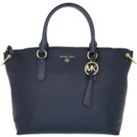 Michael Kors Handtaschen Large Convertible Satchel Bag Navy - in blau - Henkeltasche für Damen