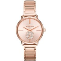 Michael Kors  Portia Ladiesmetals Watch Rosegold - in rose gold - Armbanduhr für Damen