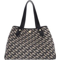 Mulberry Crossbody Bags Monogramme Jacquard Medium Tote Bag Black - in schwarz - Umhängetasche für Damen