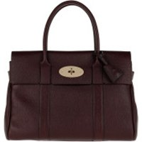 Mulberry Handtaschen Bayswater Shoulder Bag Leather Oxblood - in braun - Henkeltasche für Damen