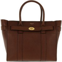 Mulberry Handtaschen Bayswater Small Zipped Leather Oak - in braun - Henkeltasche für Damen