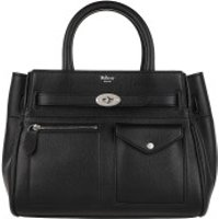 Mulberry Handtaschen Small Bayswater Satchel Bag Leather Black - in schwarz - Henkeltasche für Damen