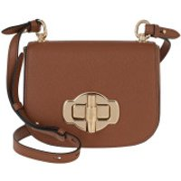 Prada Crossbody Bags Saffiano Lock Crossbody Bag Leather Cognac - in cognac - Umhängetasche für Damen