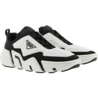 Prada Turnschuhe Technical Fabric Sneakers Black White - in weiß - für Damen