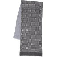 Roeckl  Check Doublelayer 40x180 Scarf Anthracite - in grau - Schal für Damen