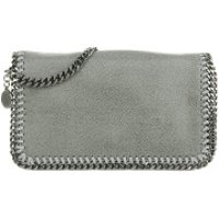 Stella McCartney Crossbody Bags Falabella Shaggy Deer Cross Body Bag Light Grey - in grau - Umhängetasche für Damen