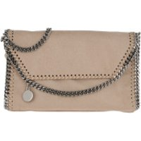 Stella McCartney Crossbody Bags Falabella Shaggy Deer Mini Shoulder Bag Navy Clotted Cream - in beige - Umhängetasche für Damen