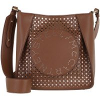 Stella McCartney Crossbody Bags Logo Crossbody Bag Cinnamon - in braun - Umhängetasche für Damen