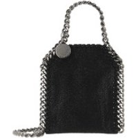 Stella McCartney Crossbody Bags Micro Bag Falabella Shaggy Dear Black - in schwarz - Umhängetasche für Damen