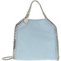 Stella McCartney Crossbody Bags Tiny Falabella Shaggy Deer Light Blue - in blau - Umhängetasche für Damen