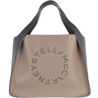 Stella McCartney Crossbody Bags Tote Bag Bicolor Eco Soft Alter Nappa Moss/Slate - in grau - Umhängetasche für Damen