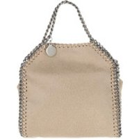 Stella McCartney Handtaschen Tiny Falabella Shaggy Deer Butter Cream - in beige - Henkeltasche für Damen