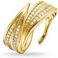 Thomas Sabo  Ring Leaves Gold - in yellow gold - Armbanduhr für Damen