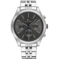 Tommy Hilfiger  Men Multifunctional Watch Ashton Silver - in silber - Armbanduhr für Damen
