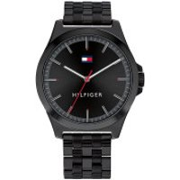 Tommy Hilfiger  Men Quartz Watch Barclay Black - in schwarz - Armbanduhr für Damen