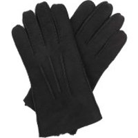 UGG  Men Contrast Sheepskin Tech Gloves Black - in schwarz - Handschuhe für Damen