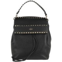 Valentino Crossbody Bags Rockstud Backpack Calf Black - in schwarz - Umhängetasche für Damen
