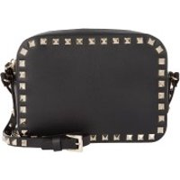 Valentino Crossbody Bags Rockstud Camera Crossbody Bag Black - in schwarz - Umhängetasche für Damen
