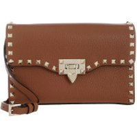 Valentino Crossbody Bags Rockstud Small Crossbody Bag Pastel Selleria - in braun - Umhängetasche für Damen