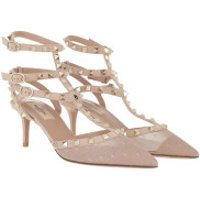 Valentino High Heels Rockstud Pumps Rose - in rosa - für Damen
