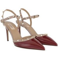 Valentino High Heels Sling Back Pumps Cerise/Poudre - in rot - für Damen