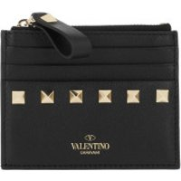 Valentino Wallet VLTN Small Wallet Leather Black - in schwarz - Portemonnaie für Damen