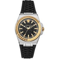 Versace  Chain Reaction Watch Black - in schwarz - Armbanduhr für Damen