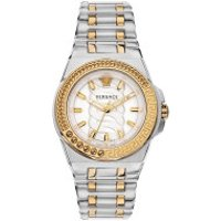 Versace  Chain Reaction Watch Silver-Tone - in silber - Armbanduhr für Damen