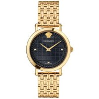 Versace  Coin Icon Watch Black - in yellow gold - Armbanduhr für Damen