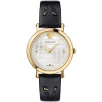 Versace  Coin Icon Watch Black/Gold - in gold - Armbanduhr für Damen