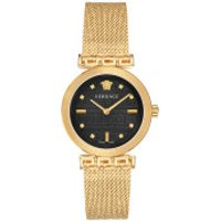 Versace  Greca Motiv Watch Gold - in gold - Armbanduhr für Damen