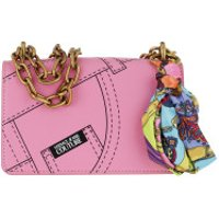 Versace Jeans Couture Crossbody Bags Flap Chain Crossbody Leather Rosa - in rosa - Umhängetasche für Damen