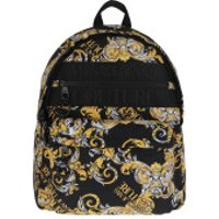 Versace Jeans Couture Crossbody Bags Men Macrologo Backpack Black/Gold - in schwarz - Umhängetasche für Damen