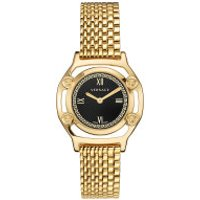 Versace  Medusa Frame Watch Black - in gold - Armbanduhr für Damen