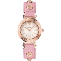 Versace  Tribute Watch Silver-Tone - in rosa - Armbanduhr für Damen